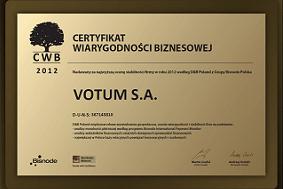 certyfikat wiarygodnosci
