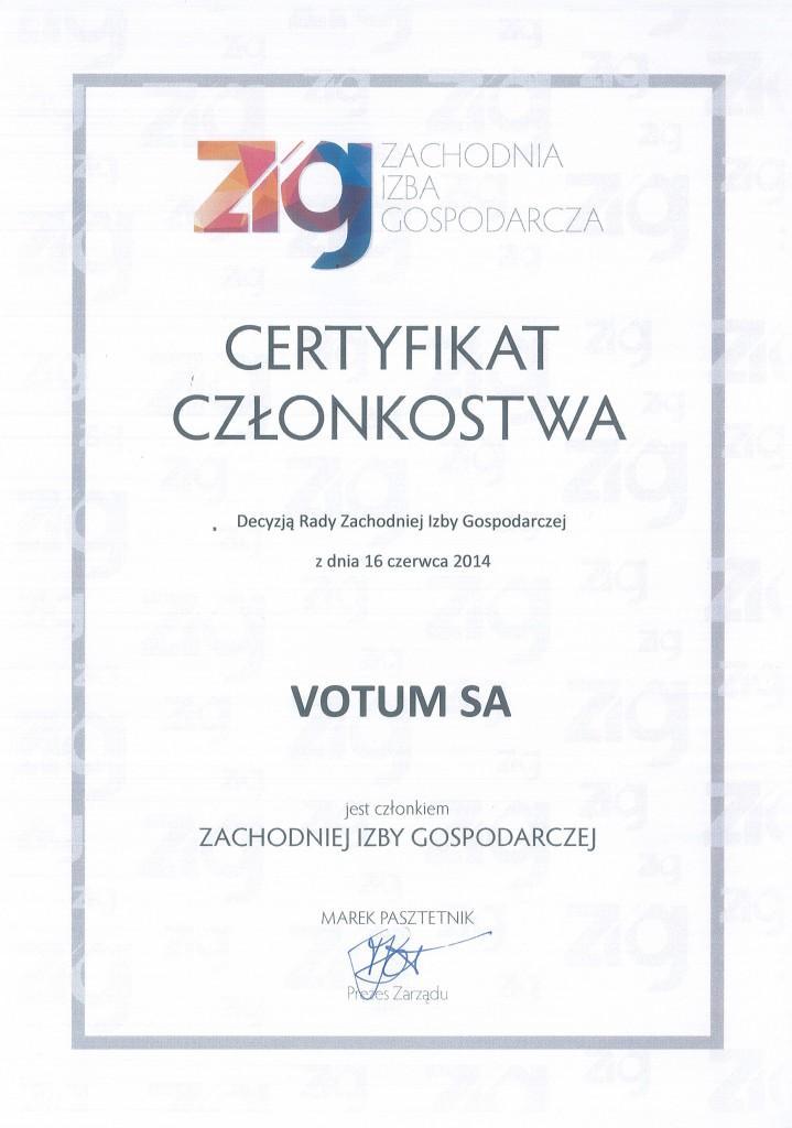 Certyfikat-ZIG