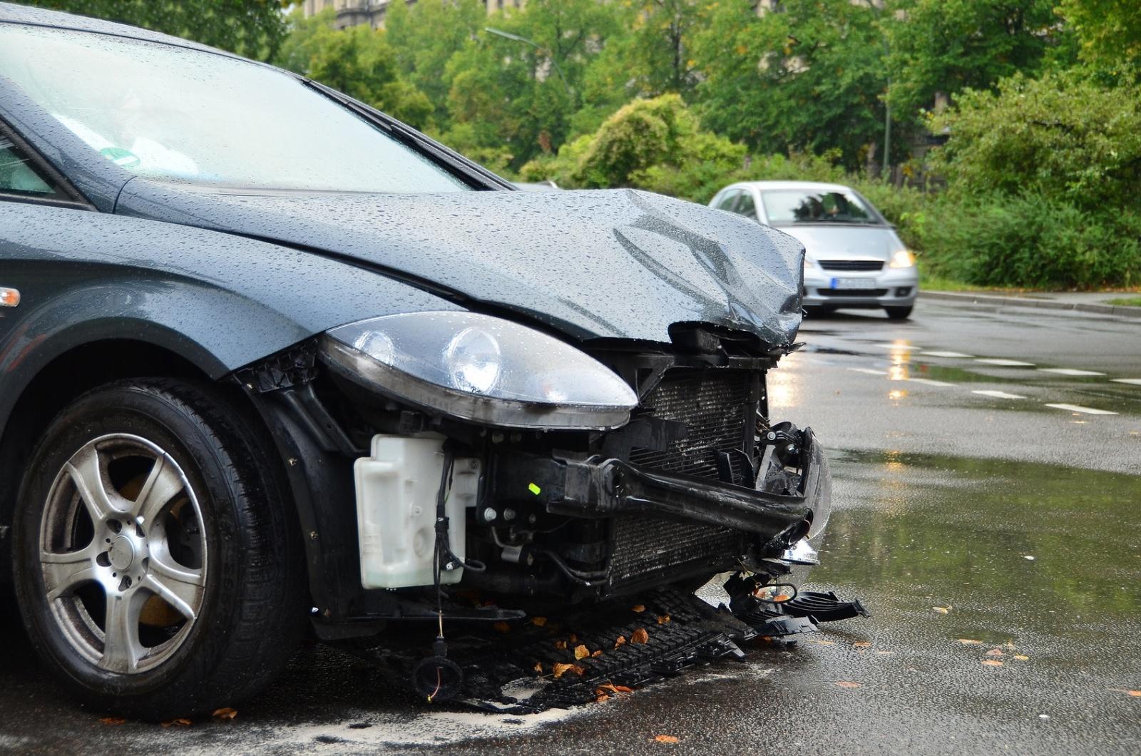 auto po wypadku