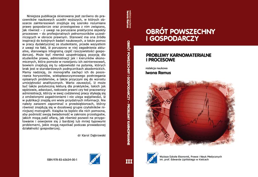 Monografia pokonferencyjna