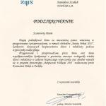 podziekowania Stanislaw Szulich