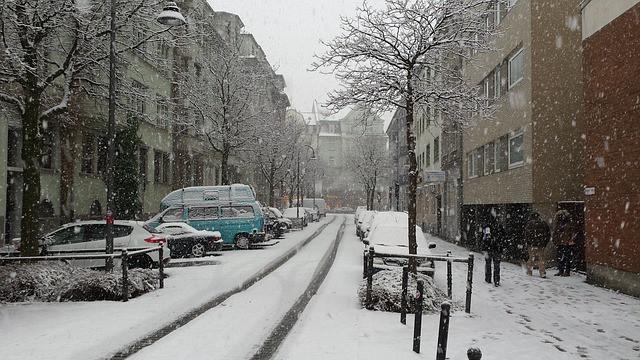 dochodzenie odszkodowań zimą