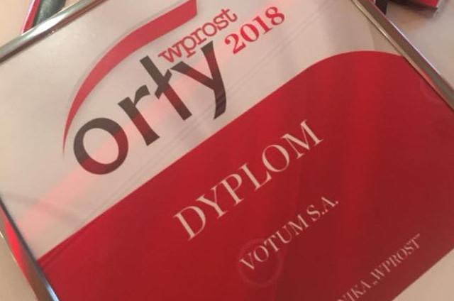 Votum wśród Orłów Wprost 2018