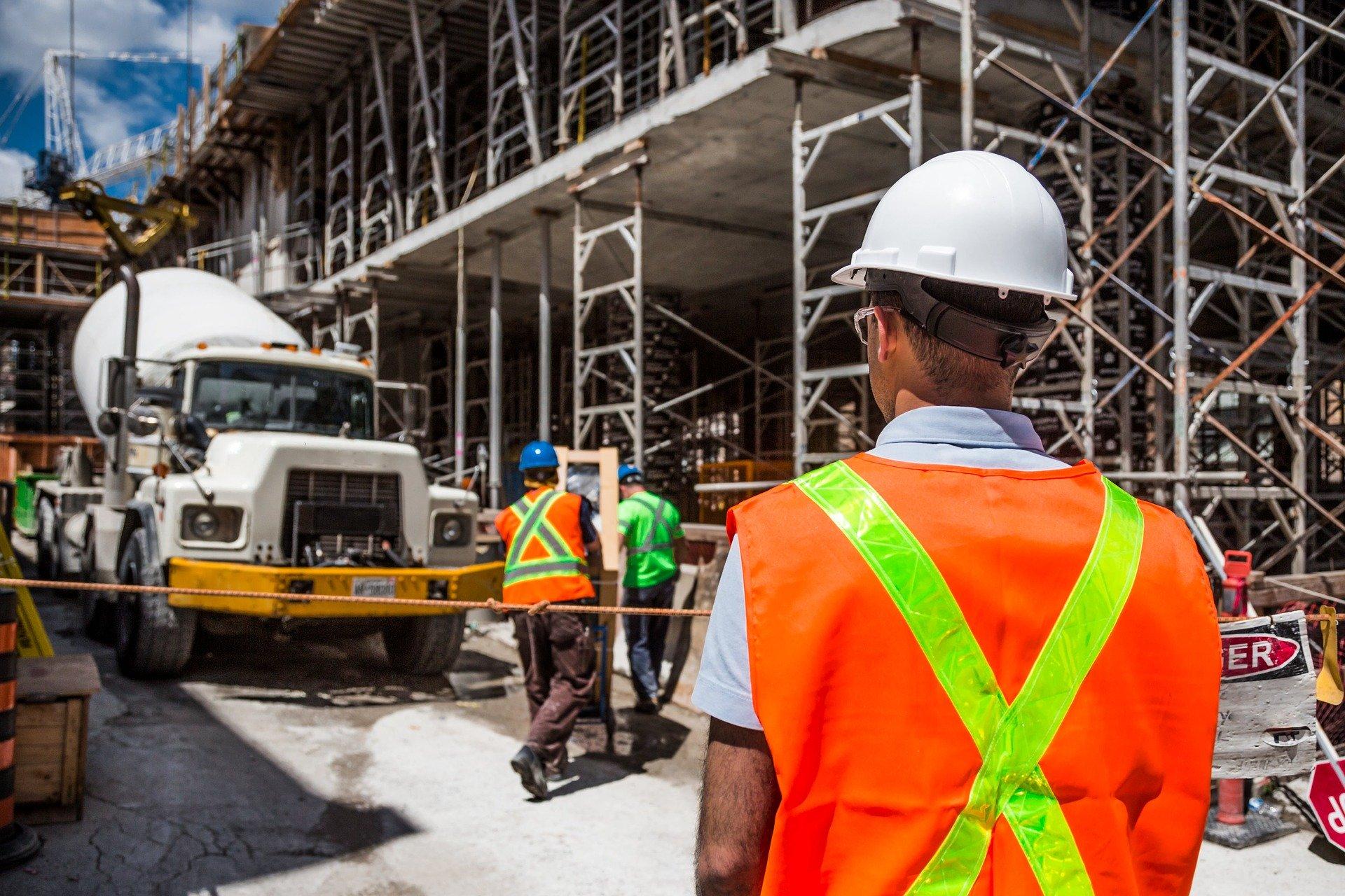 Wypadek w pracy – upadek z wysokości